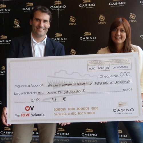 El Casino CIRSA colabora con AFAV