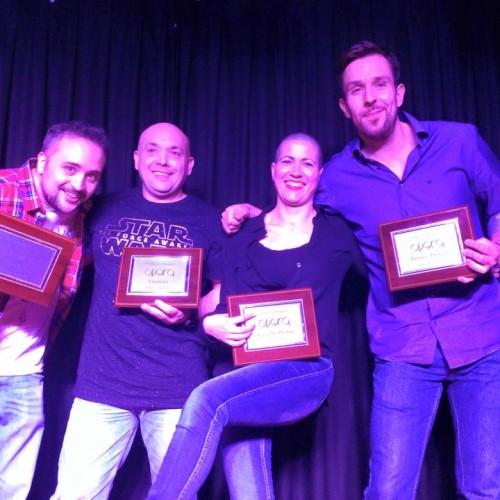Javi González gana la V edición de los premios Opera de Monólogos