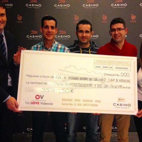 El CIRSA colabora con los organizadores del torneo Deaf Poker Spain