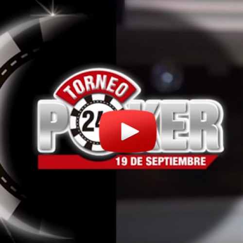 Crónica del torneo Poker 24 horas
