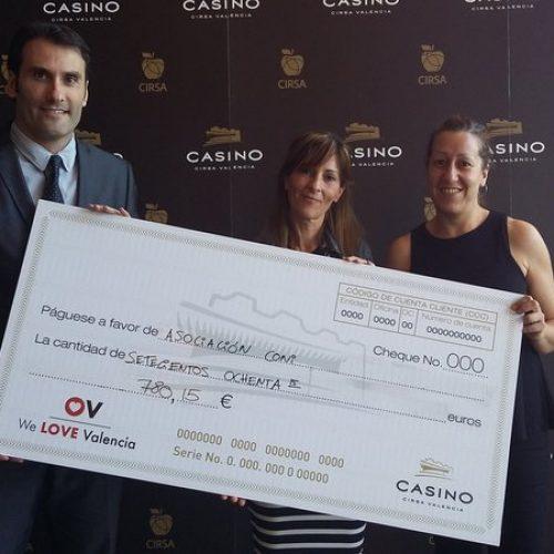 Casino CIRSA Valencia colabora con Coni