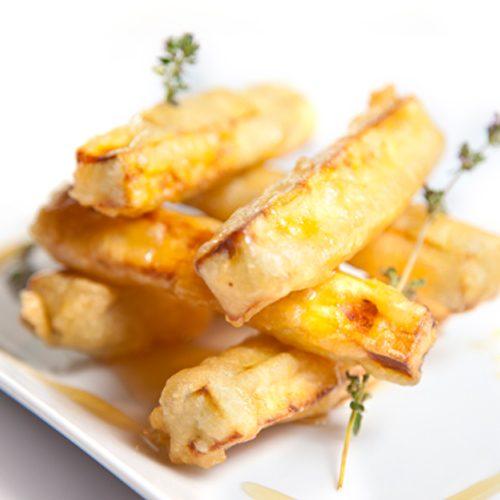 Receta: Berenjenas en tempura