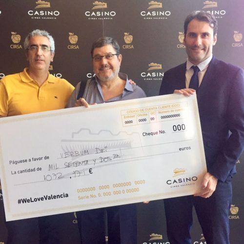 Casino CIRSA Valencia y Verbum Dei