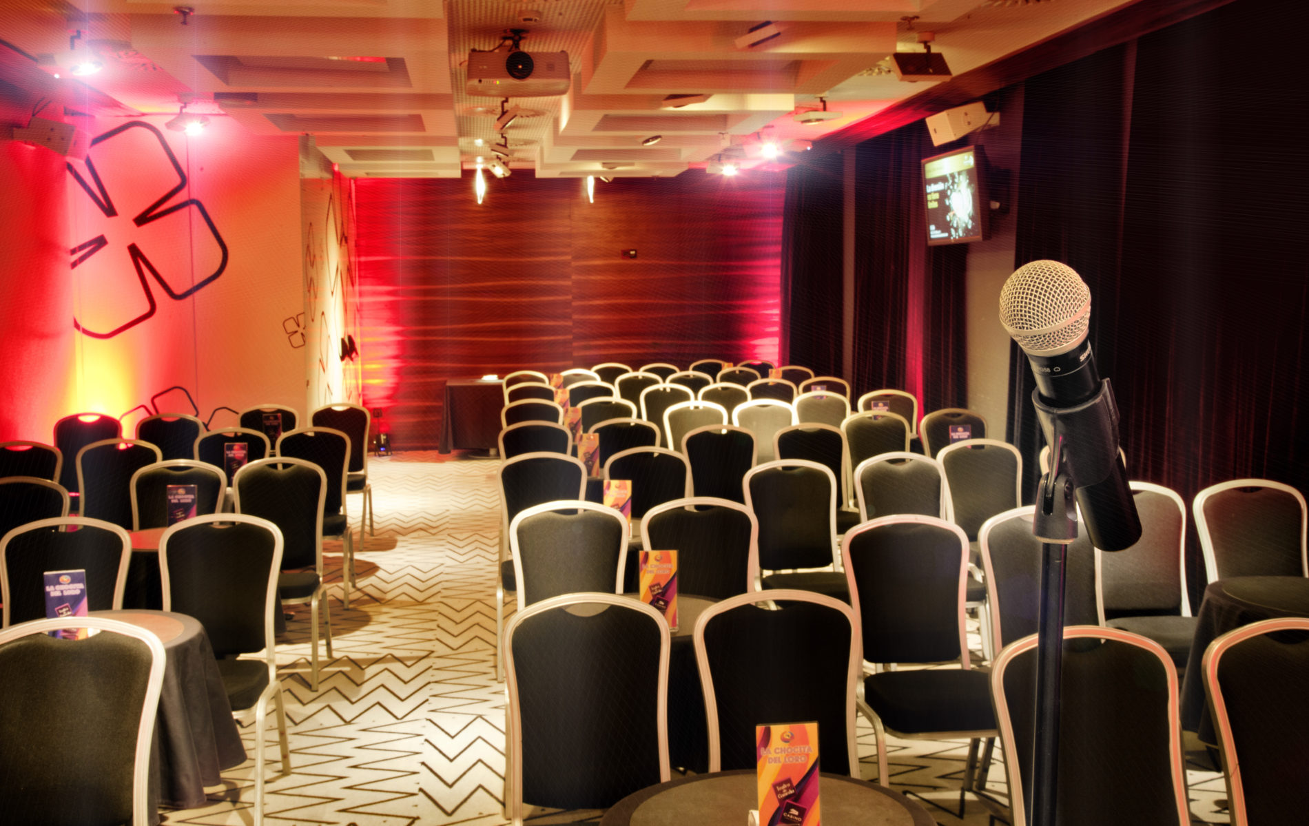 VIP room set-ups
