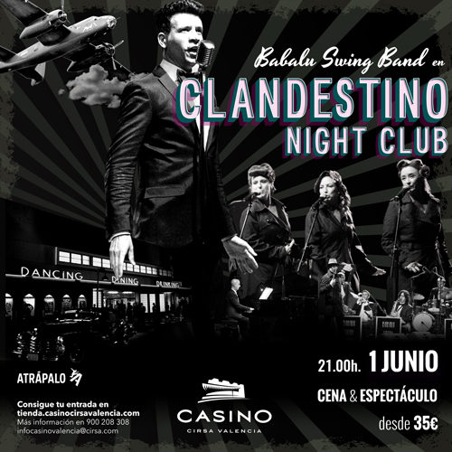 Cena espectáculo: Clandestino Night Club