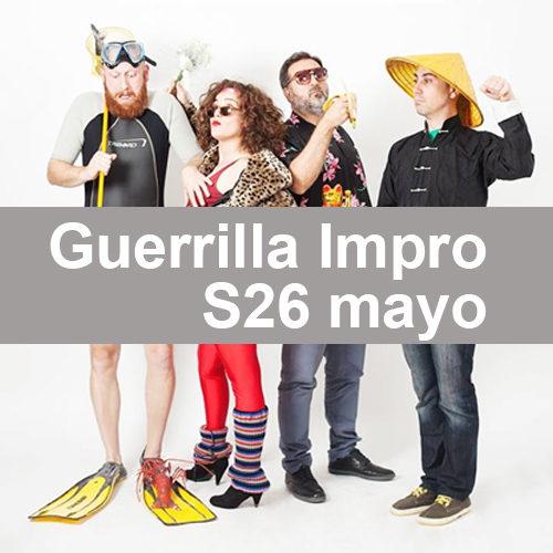 Guerrilla Impro en Ópera Valencia