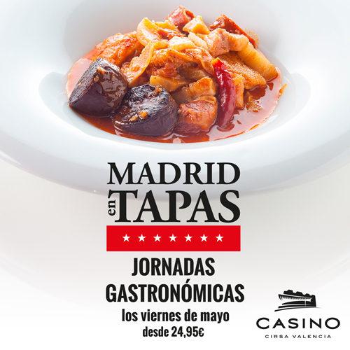 Madrid en tapas, saborea la capital