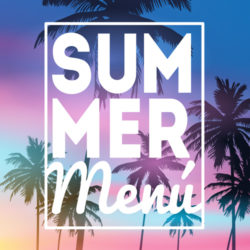 Ofertas en los menús de verano
