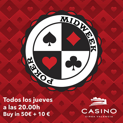 MIDWEEK tournament: €3,000 guaranteed