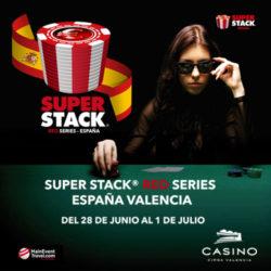 Y ahora SUPERSTACK, otro gran torneo en Valencia