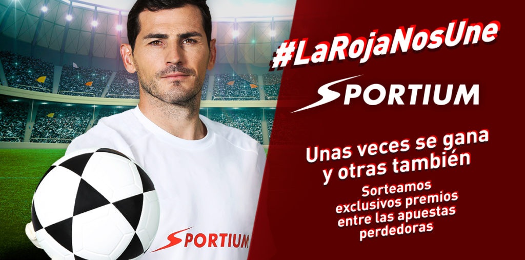 Banner IKER Casillas Apuestas Sportium