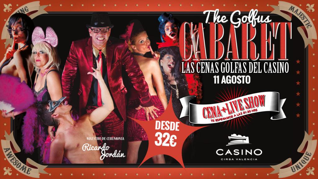 Golfus Cabaret agosto