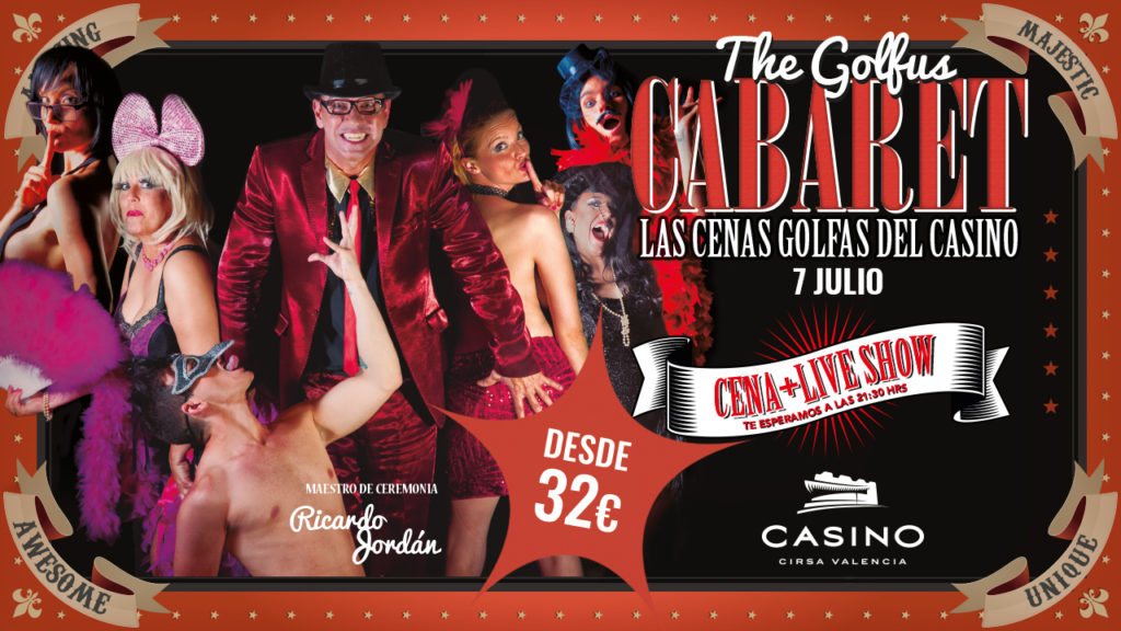 The golfus Cabaret julio
