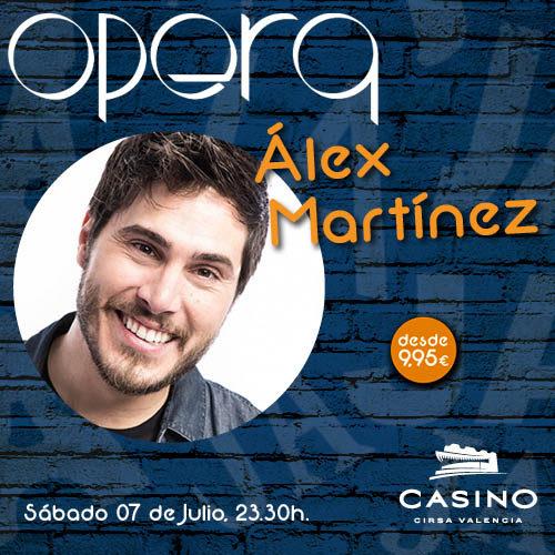 Álex Martínez en Ópera Valencia