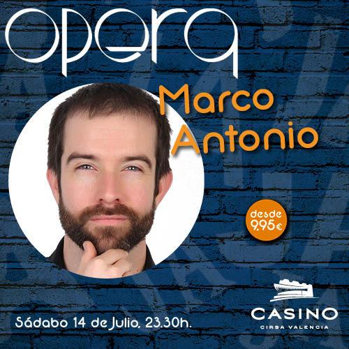 Marco Antonio en Ópera Valencia