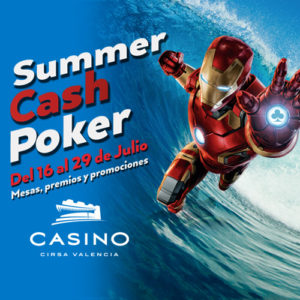 Summercash Festival poker cash