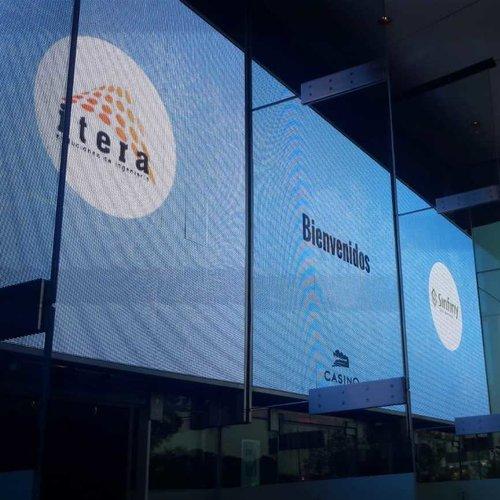 pantallas gigantes exterior casino valencia