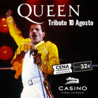 Tributo Queen 10 agosto 21.30h