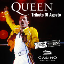 QUEEN Tribute! New dinner show
