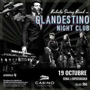 Clandestino Night Club octubre