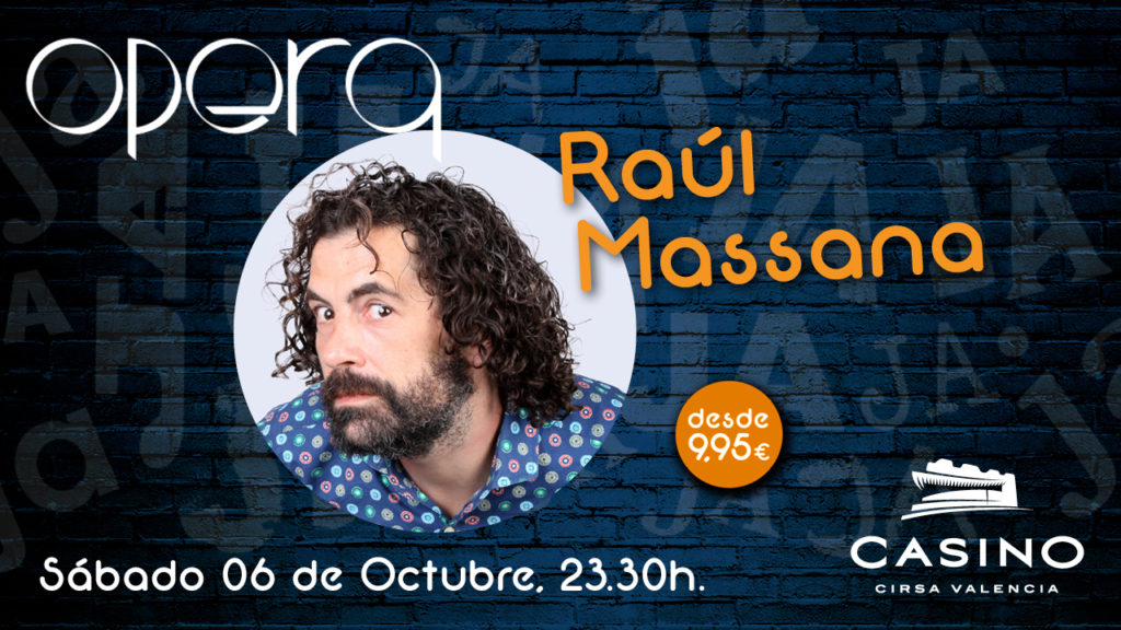 Raúl Massana monólogo
