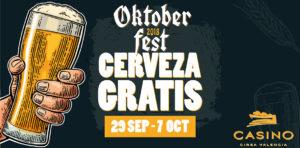 SLIDER OKTOBERFEST cerveza gratis