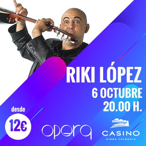 Riki López triunfó en Ópera Valencia