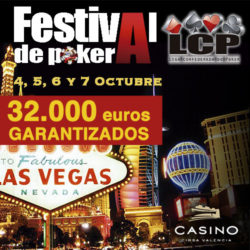 LCP llega con un Viaje a Las Vegas y 32.000€ garantizados