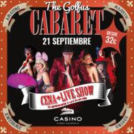 Golfus Cabaret 21/9 21.30h