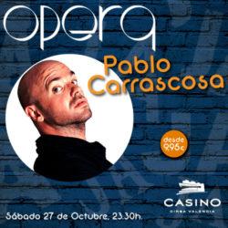 Pablo Carrascosa en Ópera Valencia