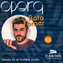 Rafa Forner en Ópera Valencia