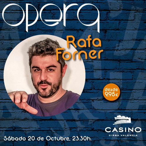 La actuación más disparatada de Rafa Forner en Ópera Valencia