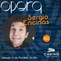Sergio Encinas 13 de octubre+cena
