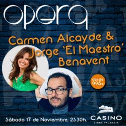 Carmen Alcayde & Jorge Benavent en Ópera Valencia