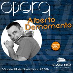 Alberto Demomento en Ópera Valencia