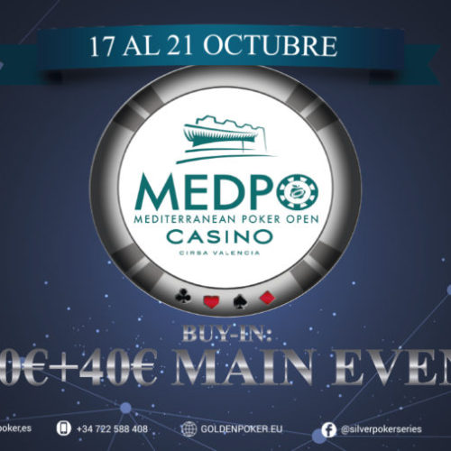 Mediterranean Poker Open, welcome again to Valencia.