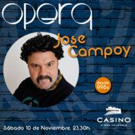 José Campoy 10 noviembre 23.30h