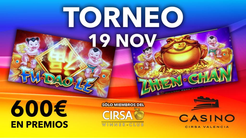 Torneo de máquinas noviembre - Slots Bally