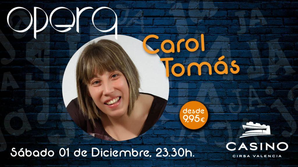 Carol Tomas monólogo ÓPERA
