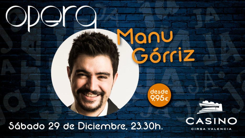 Manu Gorriz en Ópera Valencia