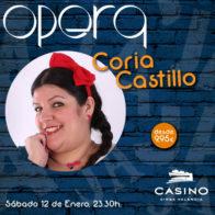 Coria Castillo 12 de enero + cena