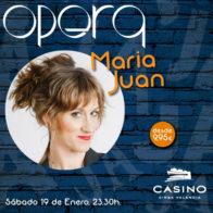 Maria Juan 19 de enero 23.30h