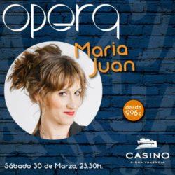 María Juan en Ópera Valencia