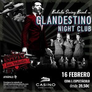 Clandestino night club especial enamorados