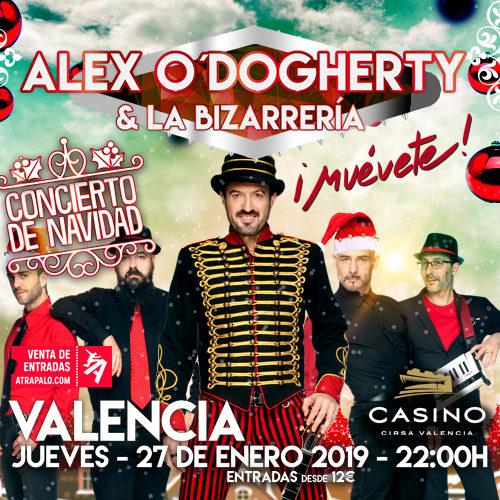 Alex O'Dogherty presentó ¡Muévete! en Valencia