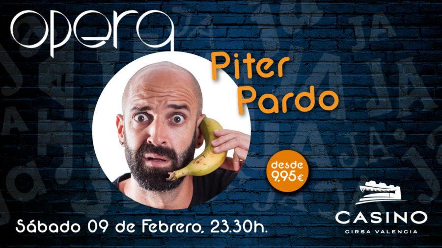 Piter Pardo en valencia