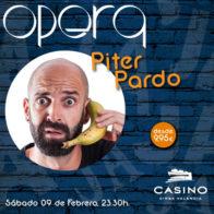 Piter Pardo 09 de febrero + cena
