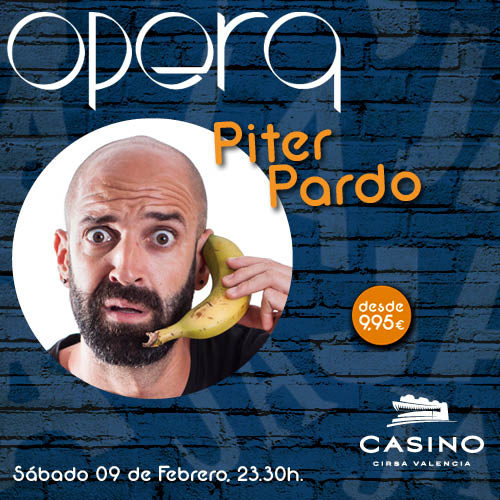 Piter Pardo en Ópera Valencia