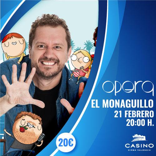 El Monaguillo protagoniza su espectáculo más divertido en Valencia