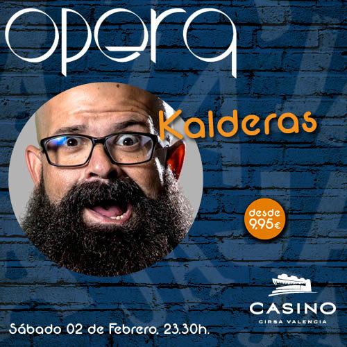 Kalderas estuvo en Ópera Valencia